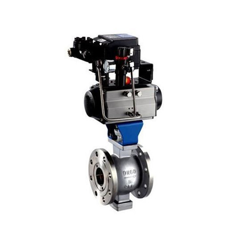 Pneumatic V -notch ball valve