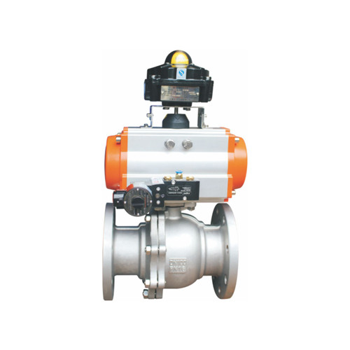Rack and Pinion Type Pneumatic floating ball valves